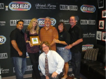 Parkwest at KLOS Radio for Donate Life Run/Walk Event