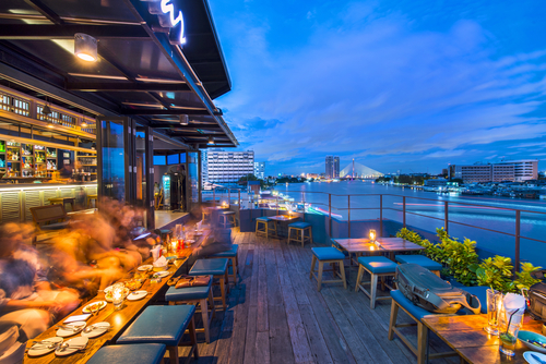 hotel rooftops to amenity spaces